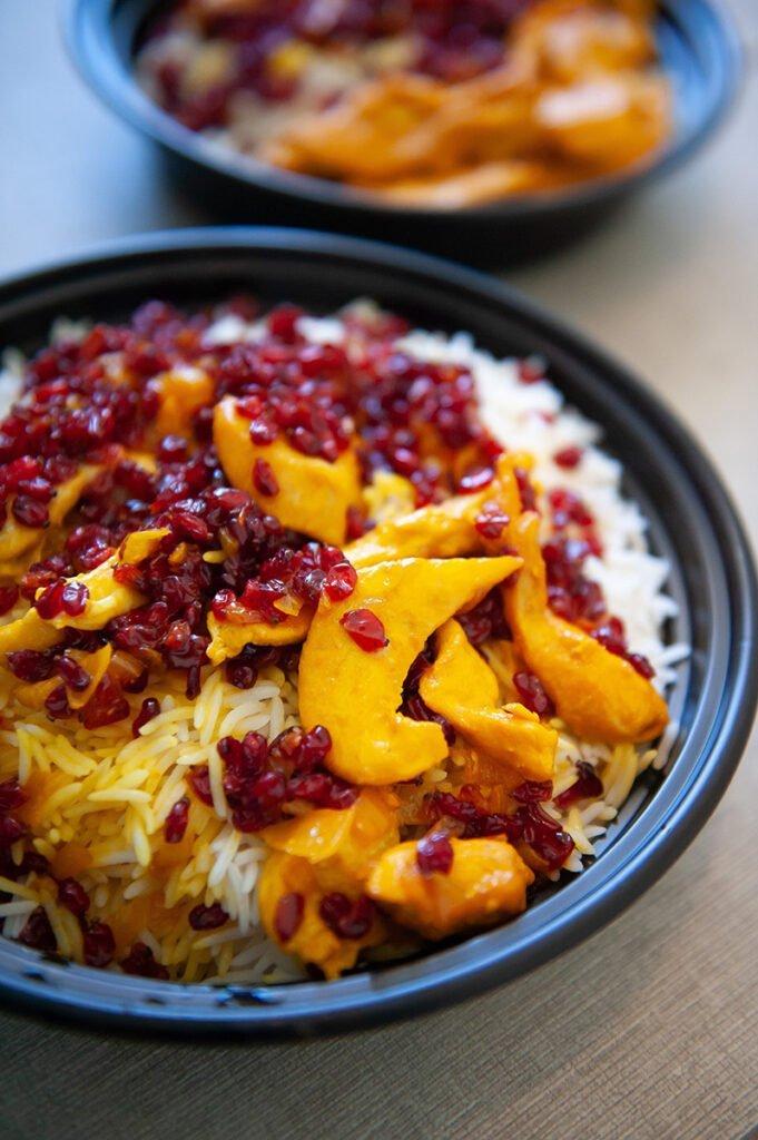barberry rice saffron chicken recipe